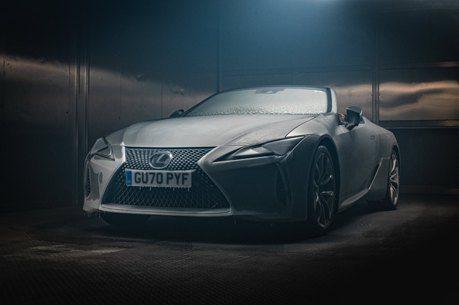 影/Lexus LC500 Convertible怎麼做耐候測試?竟是讓它結冰!