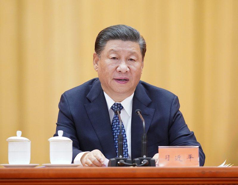 中共中央總書記、國家主席習近平。 新華社