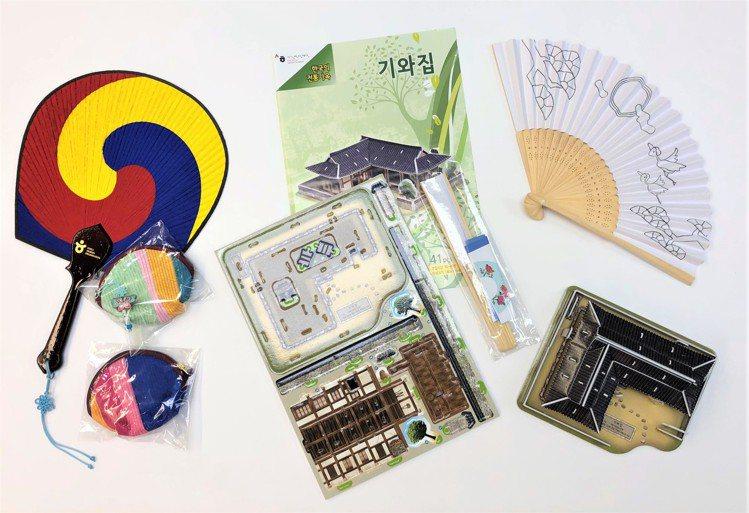 透過參與活動,預計送出200組的韓國傳統文化DIY組合包。圖/韓國觀光公社提供