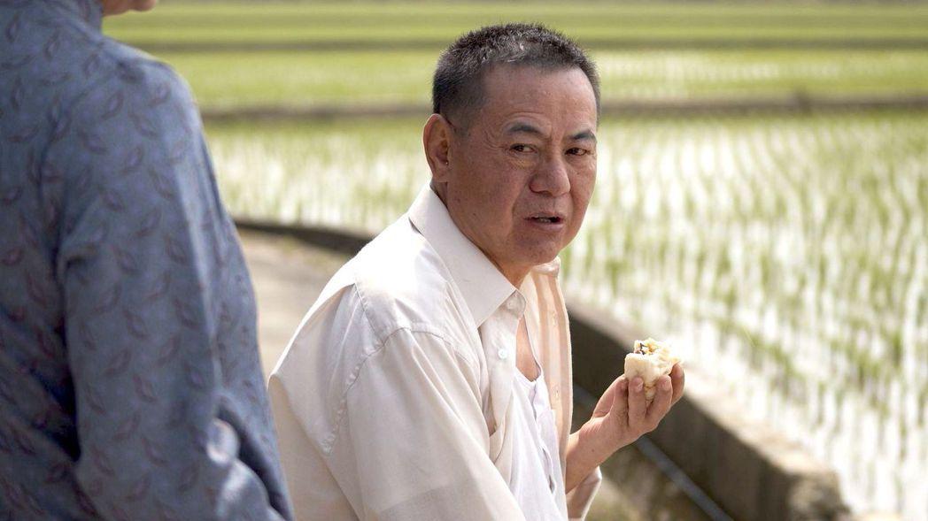 蔡振南在「觀音對我笑」中飾演本尊謝來文的父親,說話鏗鏘有力。圖/大愛台提供