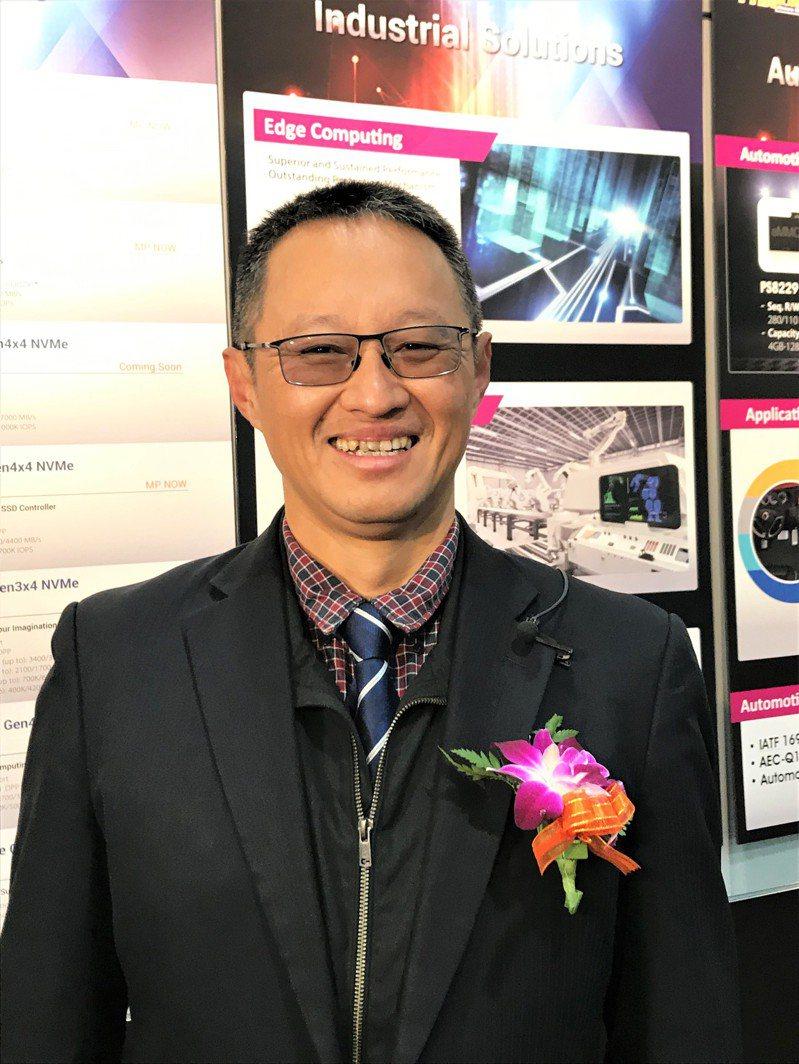 群聯董事長潘健成(本報系資料庫)