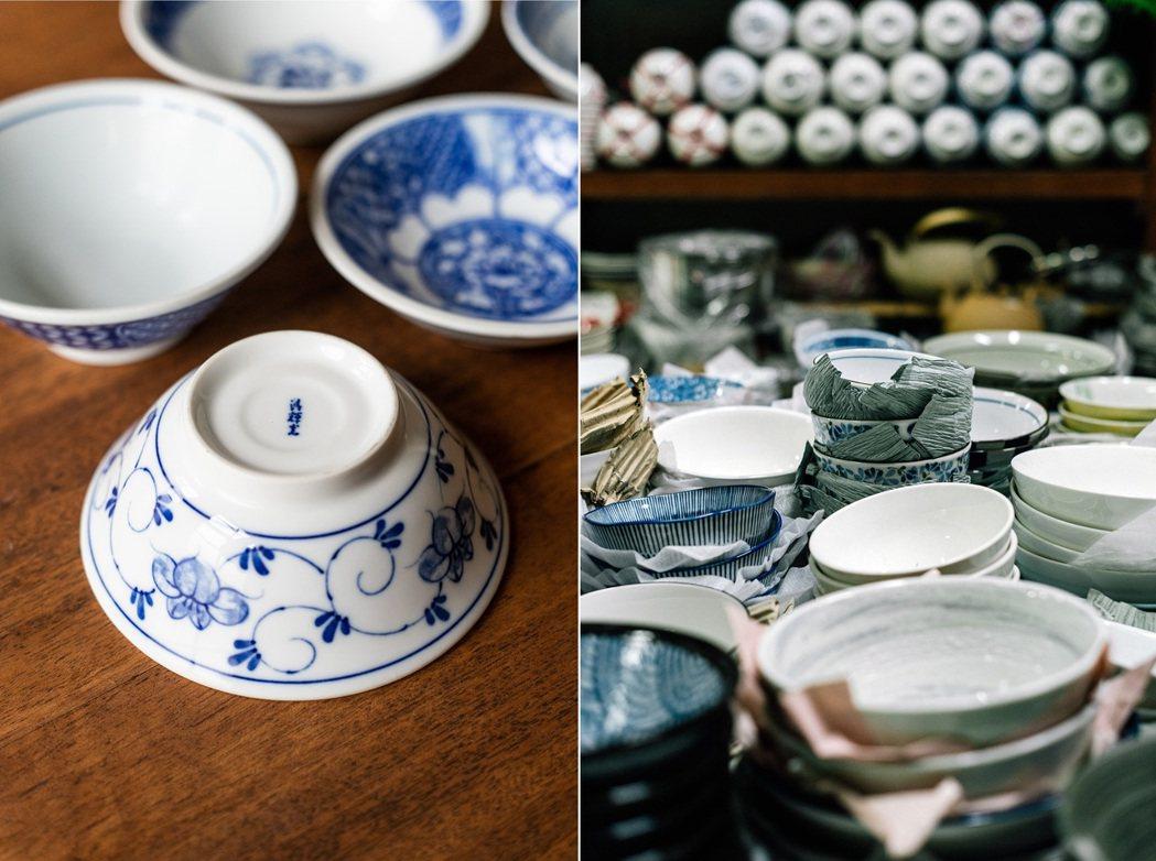淸輝窯的生意碗市占率曾高達六成,碗盤商金聲號是清輝窯的生意夥伴之一。圖/有鹿文化...