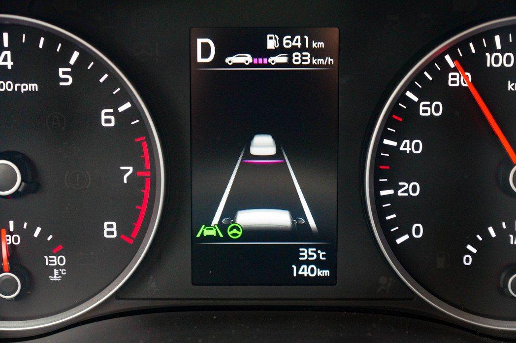 SCC加上LFA進階型車道維持輔助系統,與LKA車道維持輔助系統的搭配十分流暢。...