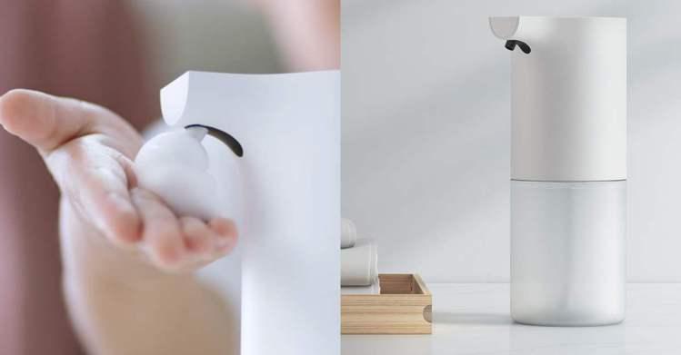 圖/儂儂提供 米家自動感應洗手機 295元。 / Source:小米