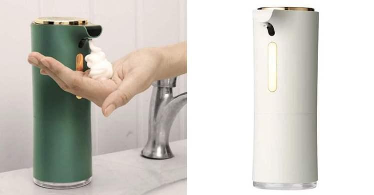 圖/儂儂提供 潔淨慕斯 感應洗手機 899元。 / Source:輕奢風