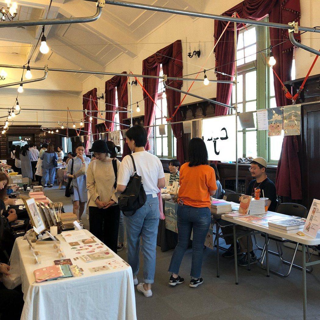 文化站首爾284也曾舉辦市集活動。 圖/문화역서울284臉書專頁