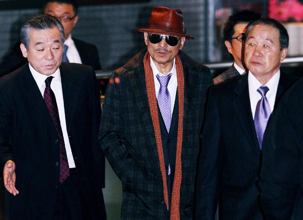 圖/法新社:現任山口組六代目組長——司忍——極少數給外媒拍攝到的照片。