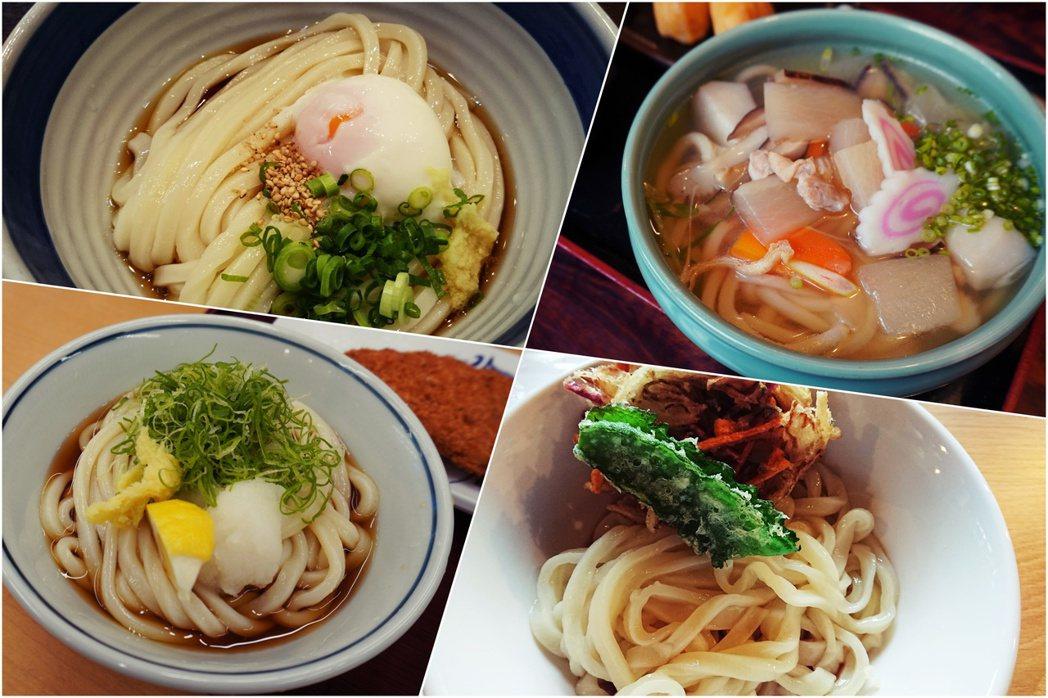 下一次的香川旅遊,你決定要吃幾碗烏龍麵了嗎?圖/作者Ting提供