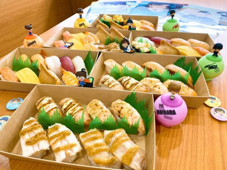 藏壽司自6月1日起,陸續推出6款KURA外帶餐盒。圖/藏壽司提供