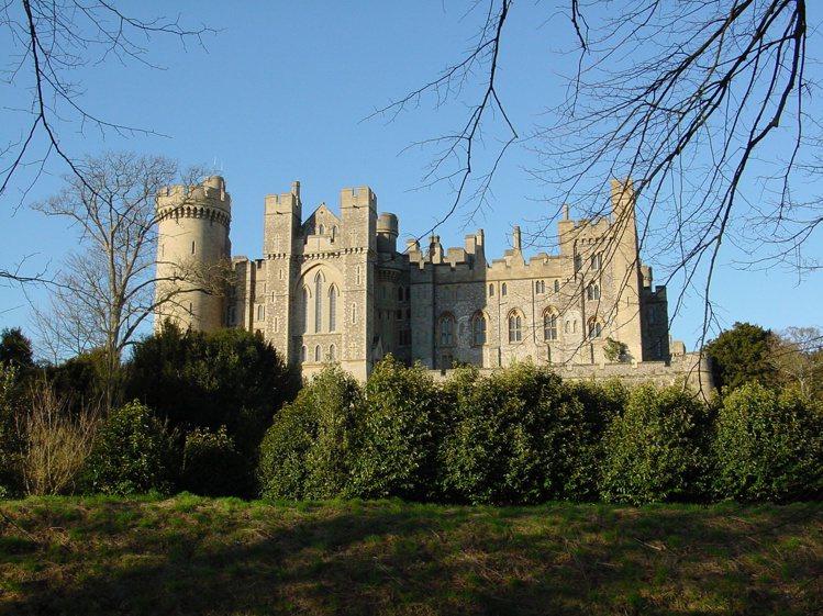 阿倫德爾城堡。圖/取自wiki commons,chuck624 from Up...