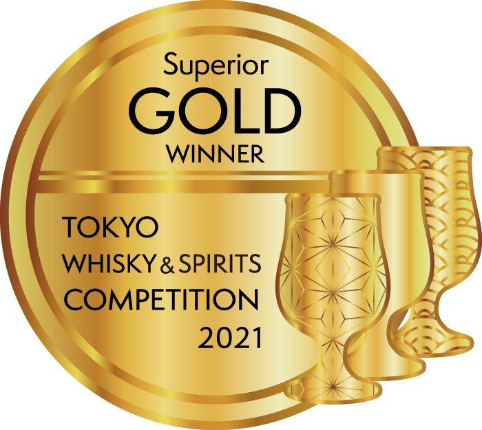 2021年TWSC東京國際威士忌與烈酒競賽「最高金賞」。圖/金車噶瑪蘭提供。提醒...