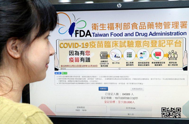 依照國際衛生組織WHO的規定,疫苗要取得國際認證,必須完成三期臨床試驗或者有三期臨床實驗的期中報告。圖/聯合報系資料照片