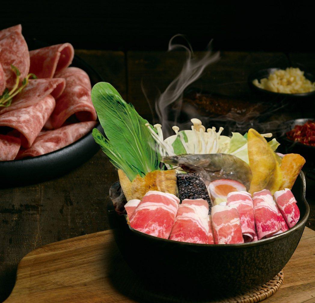 築間餐飲集團旗下三大鍋物品牌共同推出「即爽鍋物」。築間餐飲集團提供