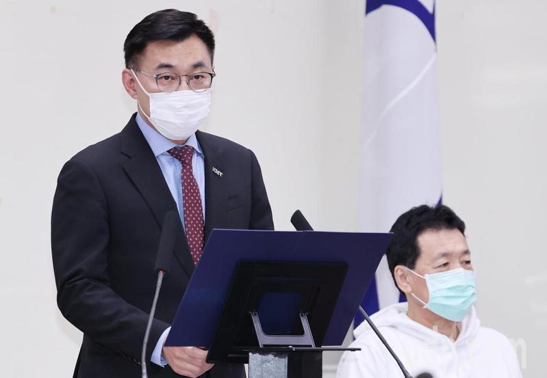國民黨主席江啟臣。 圖/聯合報系資料照片