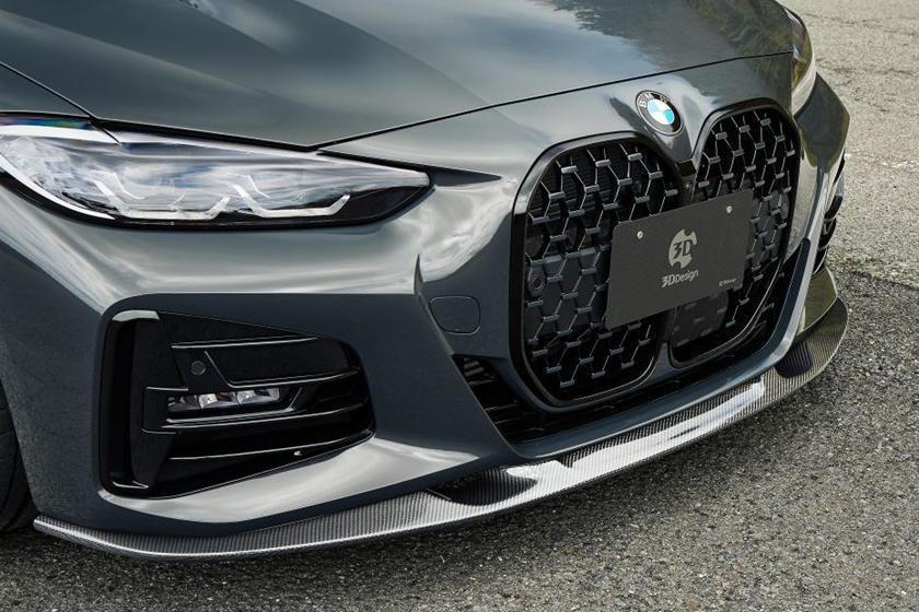 車頭的空力套件展現出相當霸氣的視覺感受。 摘自CarBuzz.com