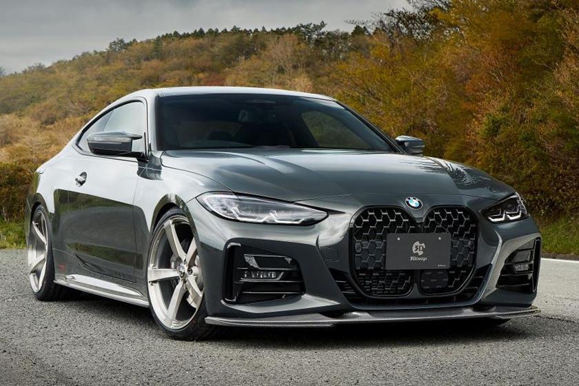 日本的改裝品牌3DDesign推出全新4系列轎跑車的碳纖維空力套件。 摘自Car...