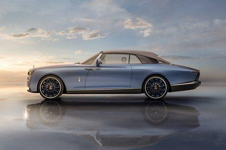 奢華世界的極致模樣!勞斯萊斯發表專屬客製化車款「Boat Tail」