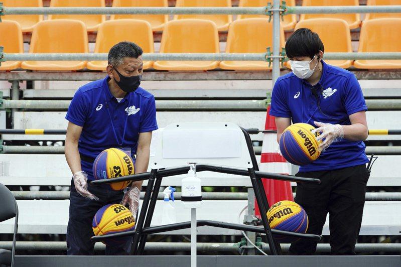 由前NBA球員組成班底的國家隊兵敗3X3資格賽,無緣東京奧運。 美聯社