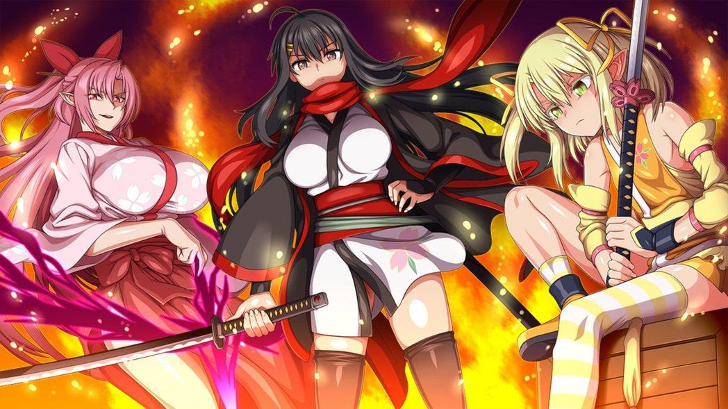 《Samurai Vandalism》本次採用三主角敘事,巨乳、爆乳、蘿莉一次滿...