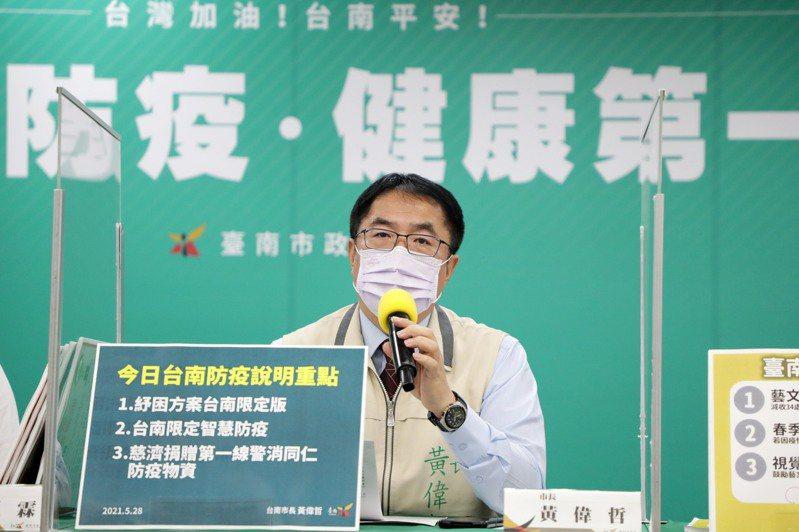 黃偉哲指示各局處積極推動各項紓困方案,協助民眾及企業度過難關
