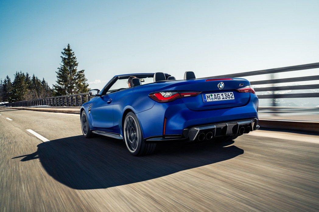 新世代BMW M4 Competition Convertible (G83) ...