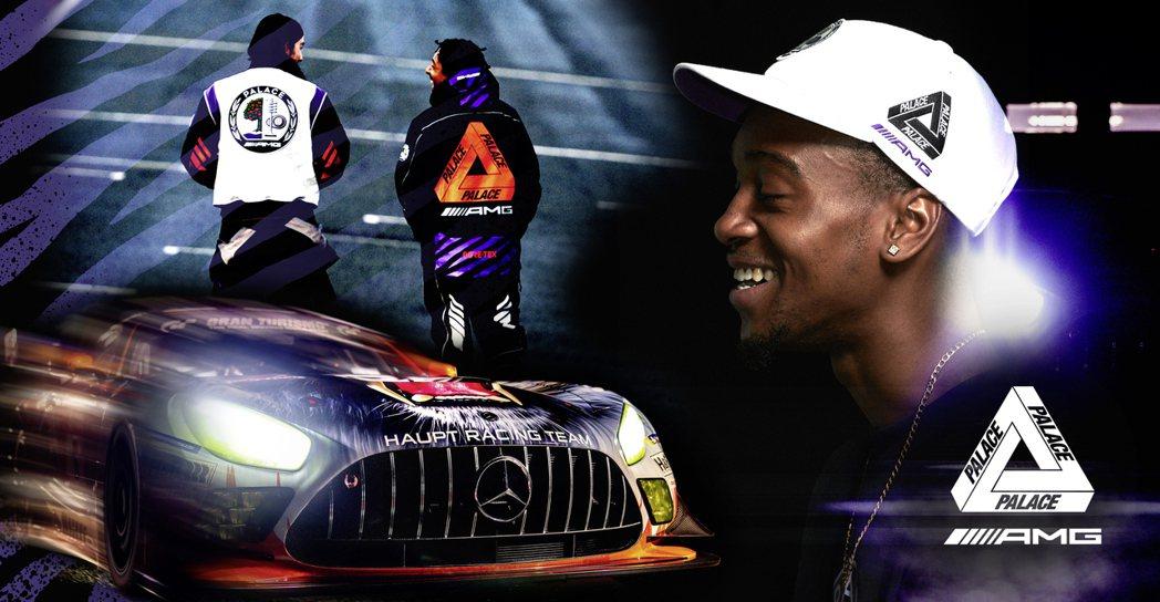 Palace X Mercedes-AMG跨界聯名企劃。 摘自Mercedes-...