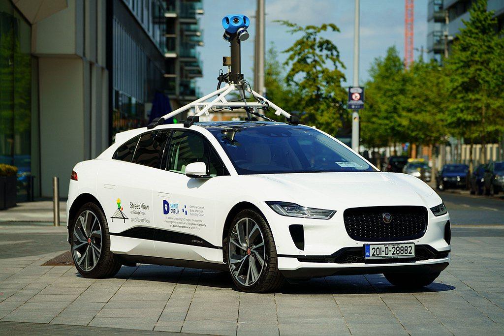 Jaguar I-PACE成為Google使用的第一款純電車款,將用於測量都柏林...