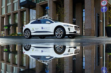 Google首款合作使用的純電車!Jaguar I-PACE監測都柏林空氣品質
