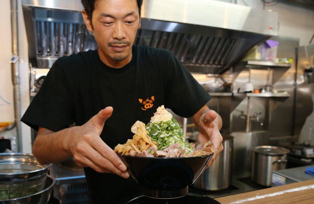 近年來台灣掀起一陣拉麵風潮,翻開台北地圖已有上百間拉麵店。 圖/聯合報系資料照