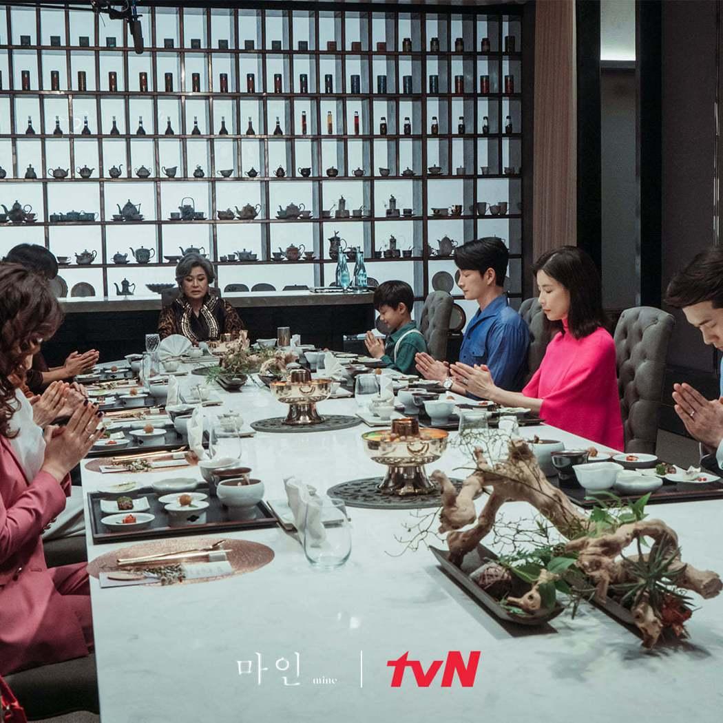 「我的上流世界」劇中豪華場景。圖/擷自tvN 드라마(Drama)臉書