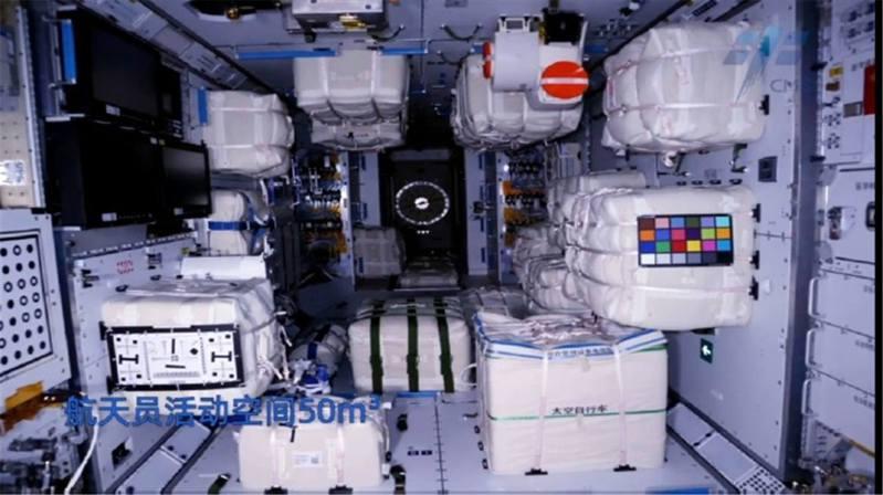 4月29日,大陸太空站「天和」核心艙成功被運送入軌,目前其已在軌運行一個月,且與天舟二號對接成功。(微博@China航天)