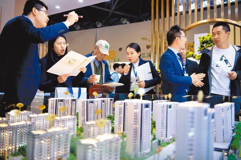 數據顯示,大陸全國5月100個城市新建住宅平均價格,比4月上漲0.3%。中新社資料照片