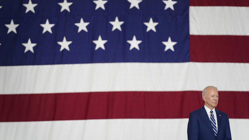 拜登提出目標遠大的預算案,尋求重建美國經濟。 美聯社