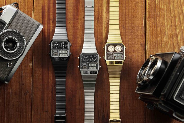 CITIZEN在80年代呼應社會氛圍的而生的ANA-DIGI TEMP腕表,全新...