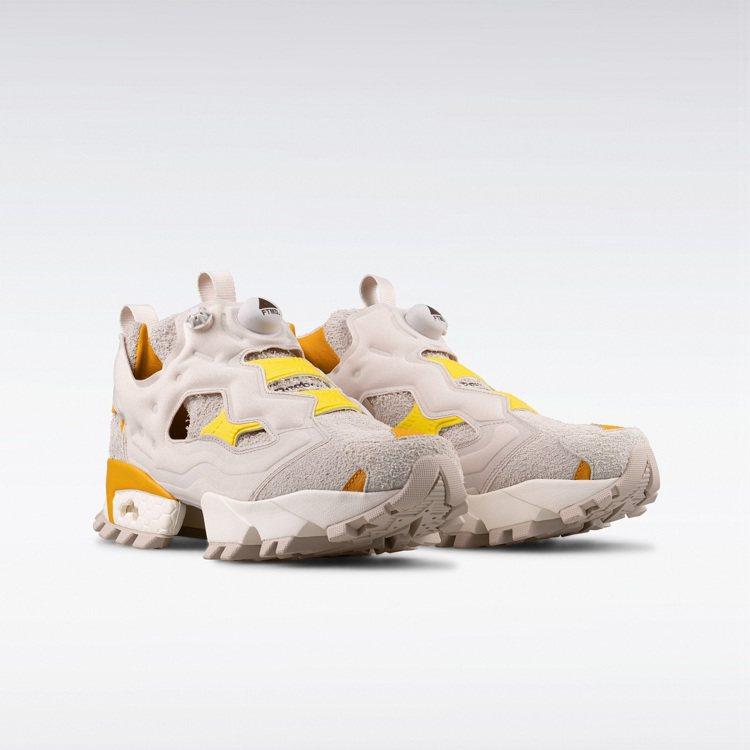 Reebok x FTMD. Instapump Fury系列鞋5,250元。圖...