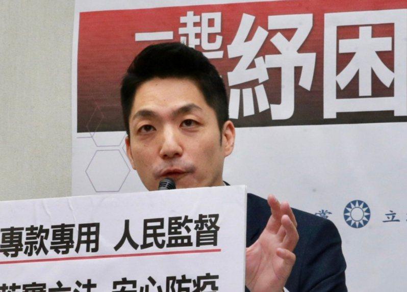 國民黨立委蔣萬安。報系資料照片