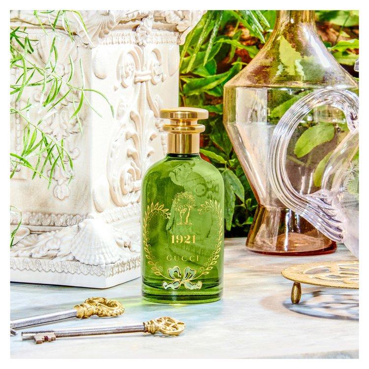 煉金士花園翡冷翠香水,11,000元。圖/GUCCI提供