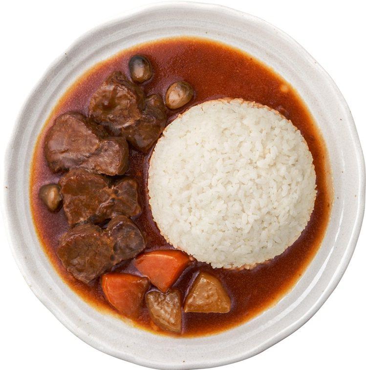 「請客樓-御選紅燒牛肉飯」,售價99元;6月2日至6月15日OPEN POINT...