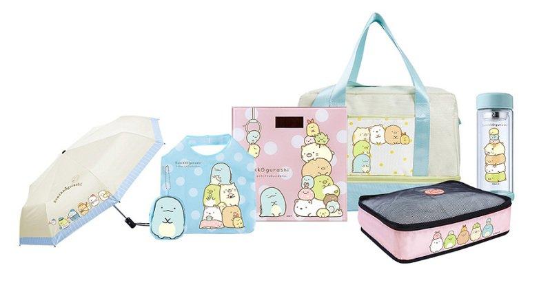 momo購物網6月全新集點活動首次與日本官方授權「角落小夥伴」合作,推出6款獨家限量周邊商品。圖/momo購物網提供