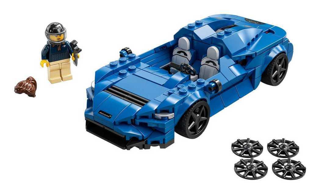全新的McLaren Elva(76902)盒組。 圖/LEGO提供