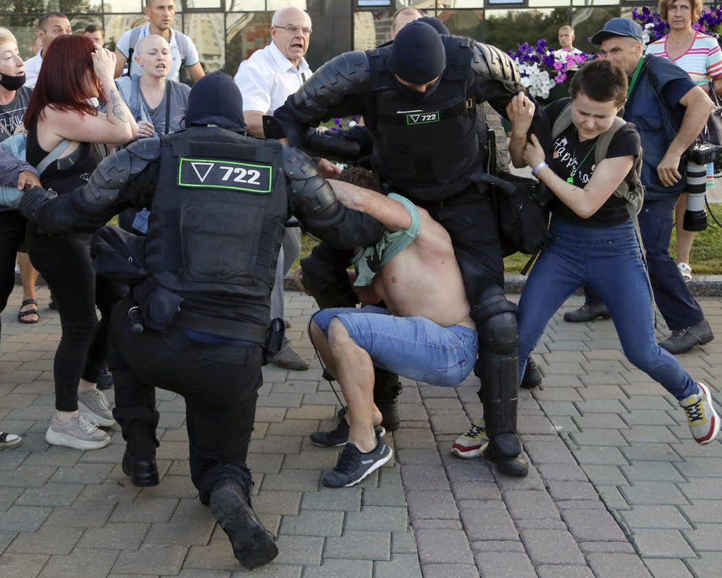 2020年8月白俄羅斯總統大選,從1994年就高壓統治白俄羅斯至今、被稱作「歐洲...