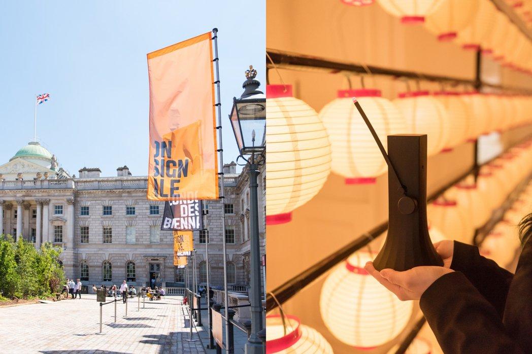 倫敦設計雙年展台灣館於6月1日至27日在薩默塞特府正式登場。 圖/台灣設計研究院...