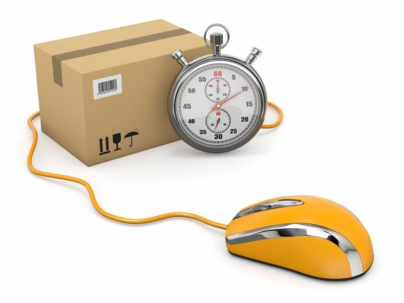 一名貨運司機發文抱怨包裹配送量已經超載,各家物流公司目前都無法負荷,導致包裹難以快速送達。示意圖/ingimage