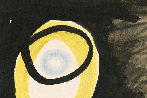 畢卡索的水彩靜物。圖/姚謙提供