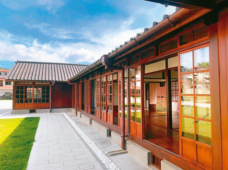 ↑「池田屋旅舍」承載著獨特的歷史意涵,保留了原本的設計,再現老時光歲月。圖/高雄市政府民政局提供