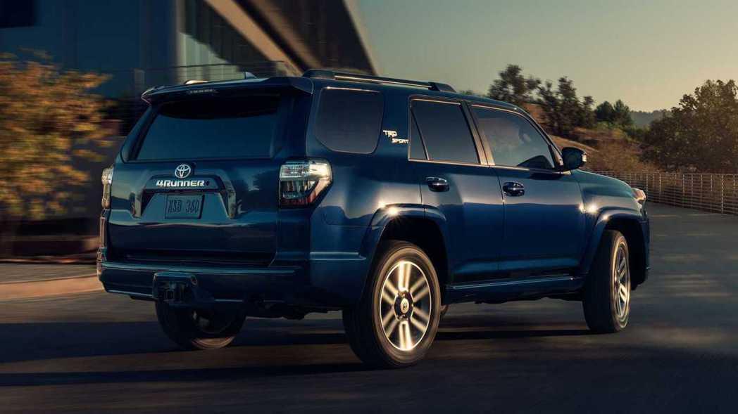 2022 Toyota 4Runner TRD Sport。 摘自Toyota