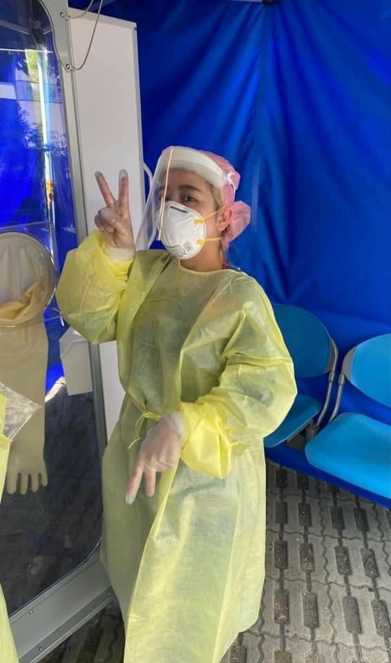 童綜合醫院急診部主任魏智偉在臉書說,護理師是最需要疼愛的一群人。圖/取自魏智偉臉...