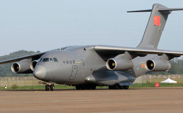 昨天曾逼近馬來西亞領空的中國大陸運20軍用運輸機。(每日頭條)