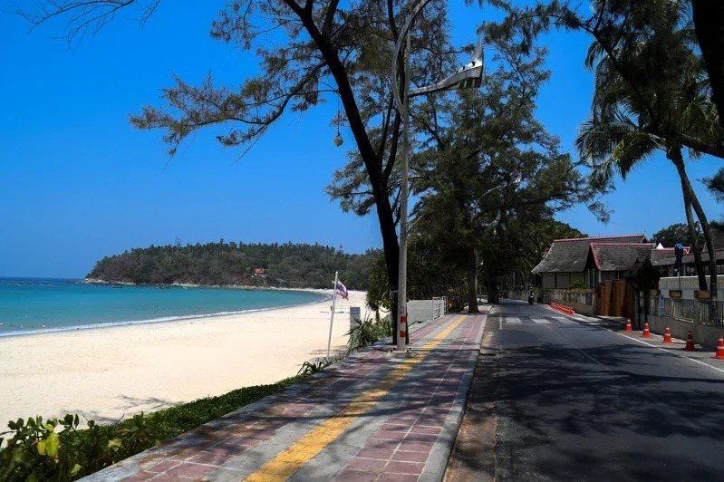 普吉島知名景點喀塔海灘。(路透資料照)