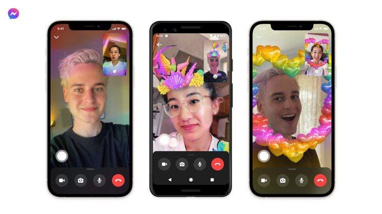 Facebook推出Messenger濾鏡特效,讓大家可以用創意展現對多元族群的...